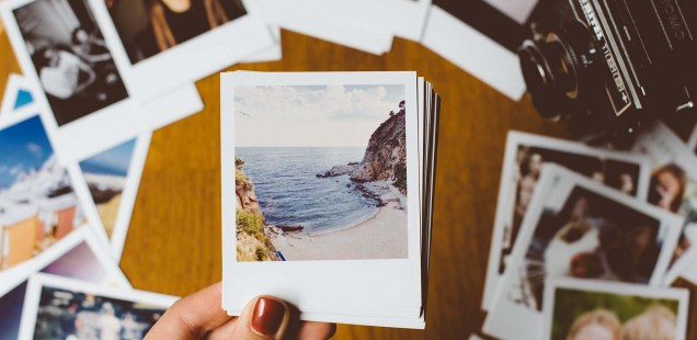 Fotos wie ein damaliges Polaroid - total Retro!