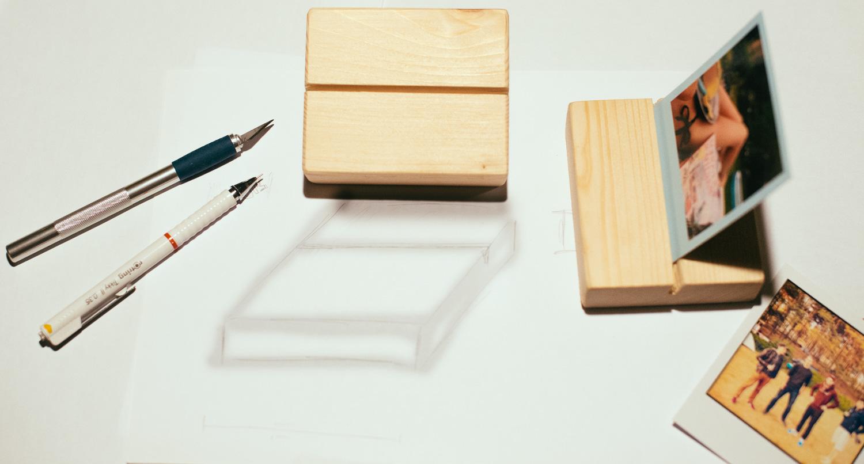 Photoständer von Photolove aus Holz